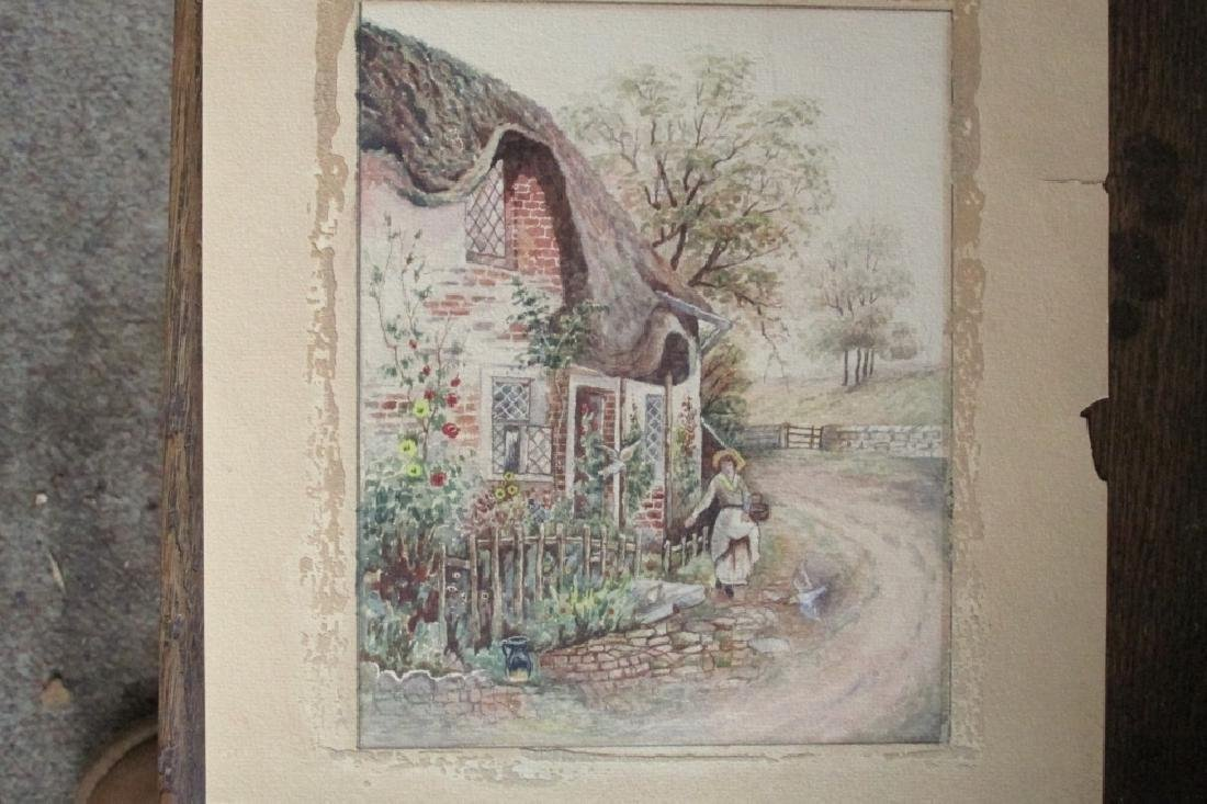 Flower Cottage (English School)