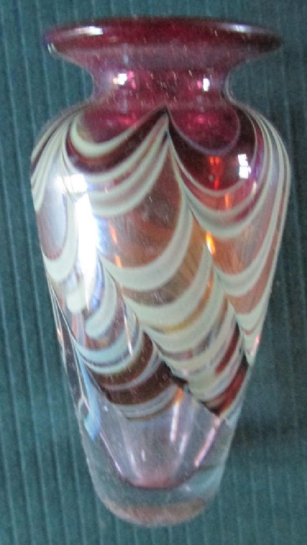 Art Glass Miniature Cabinet Vase