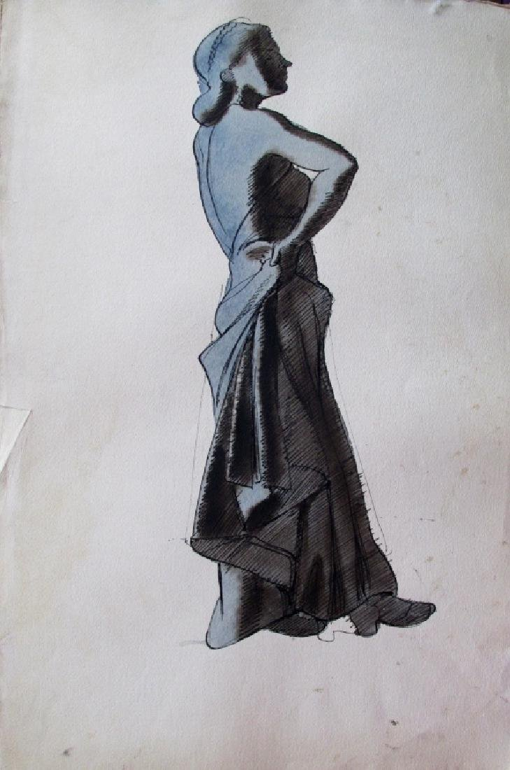 Frank Lombardi (American New Jersey) Blue Lady
