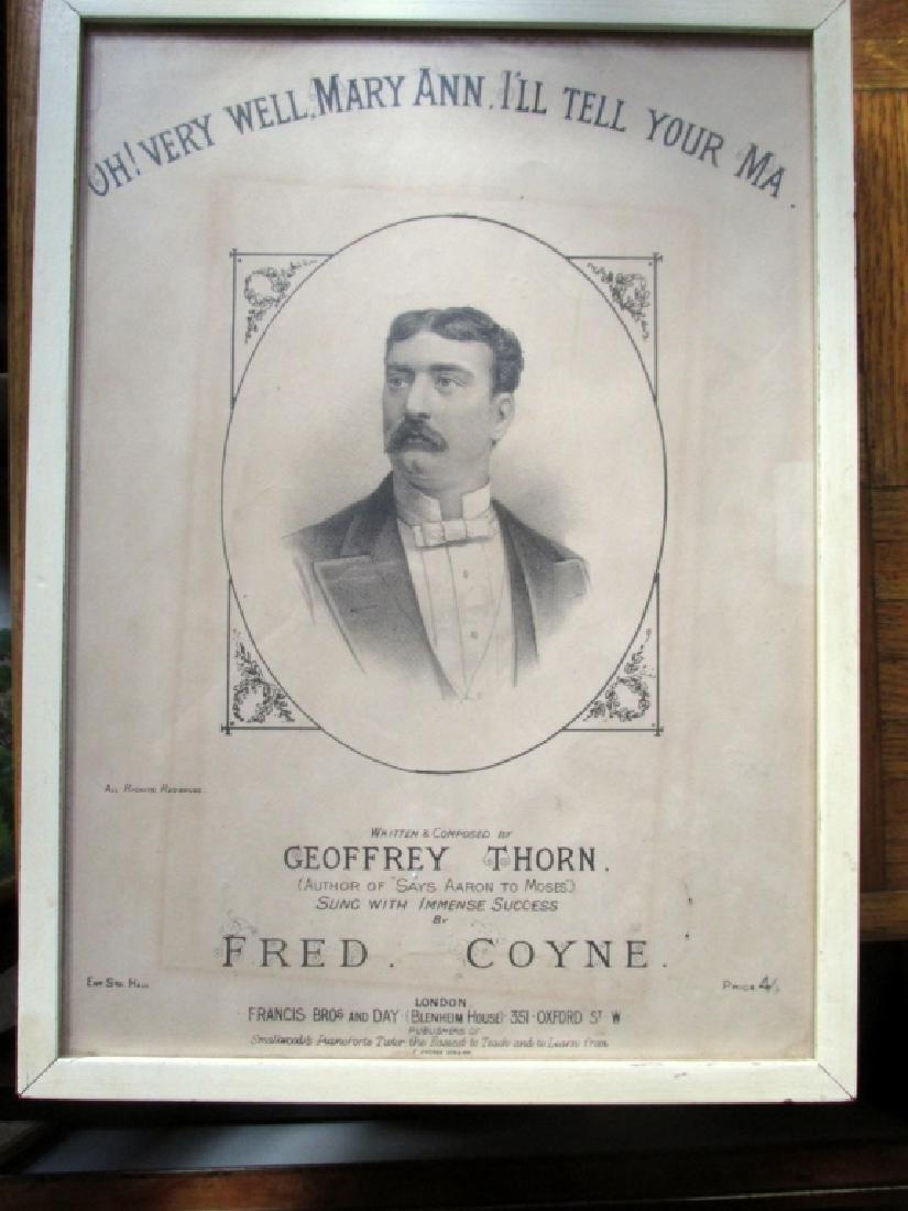 Fred Coyne Sheet Music