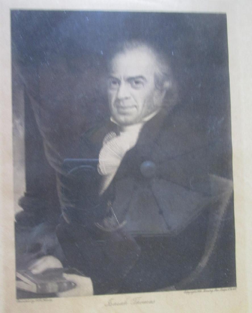 Isaiah Thomas Freemason Engraving