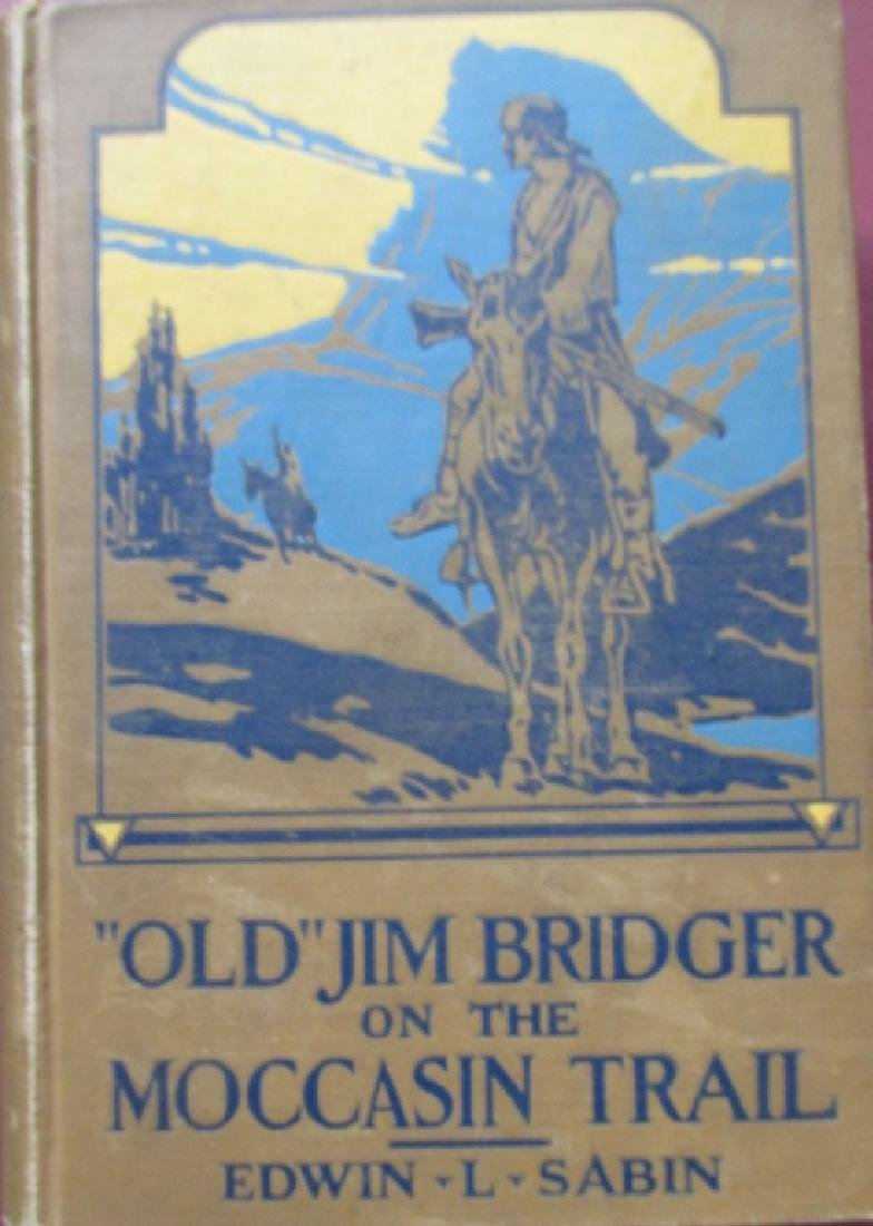 Old Jim Bridger on the Moccasin Trail