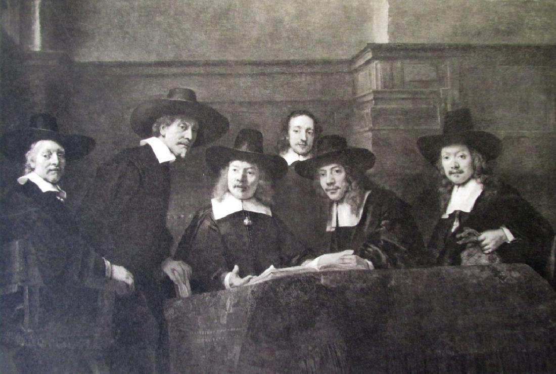 The Syndics of the Cloth Hall - Rembrandt Van Rijn
