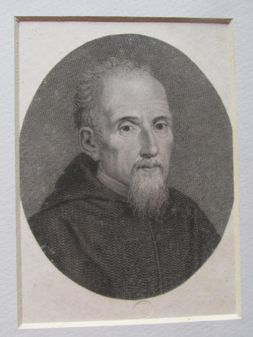 Early Engraving Portrait