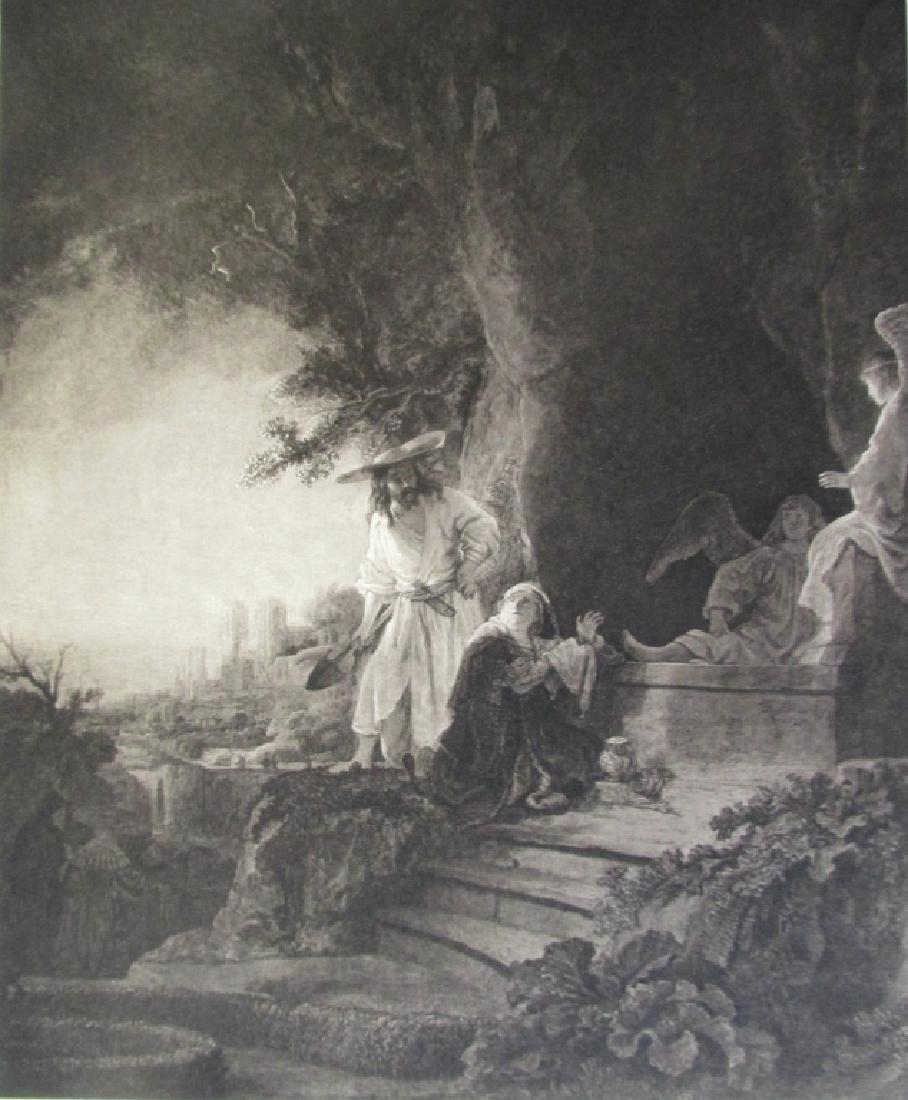 Christ As A Gardener - Rembrandt Van Rijn