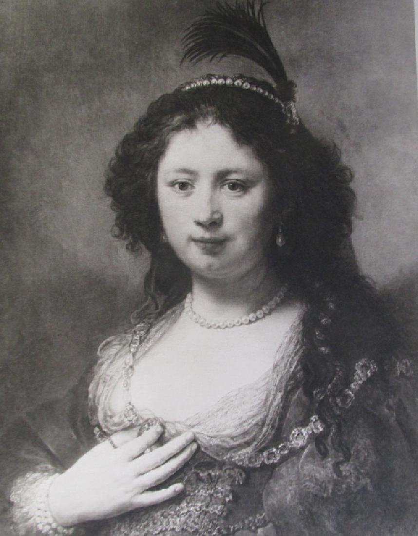 Portrait of a Lady - Rembrandt Van Rijn