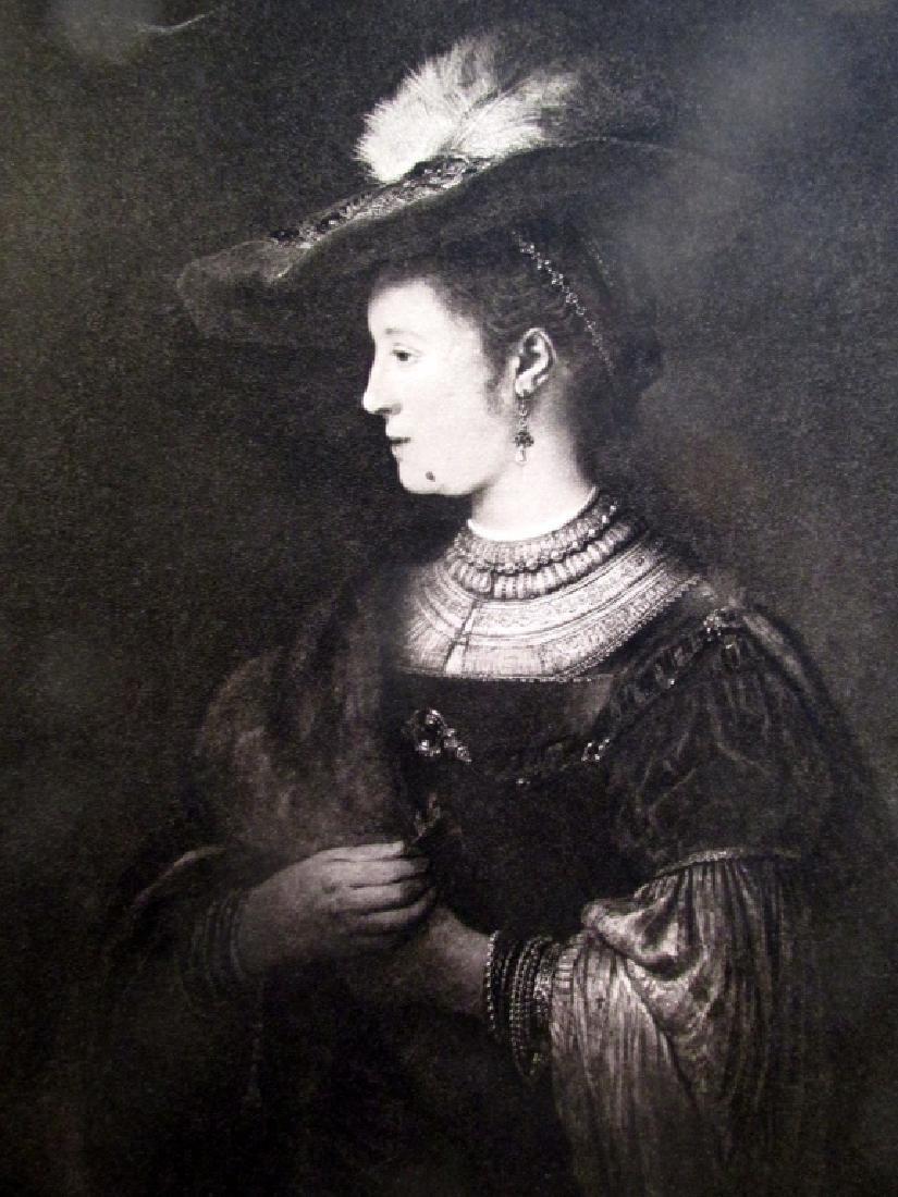 Portrait of Saskia - Rembrandt Van Rijn