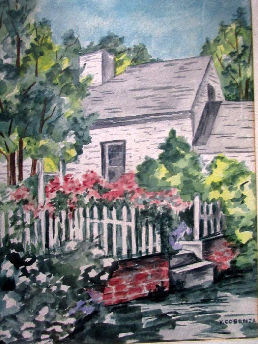 House with a White Picket Fence - V. Cosenza
