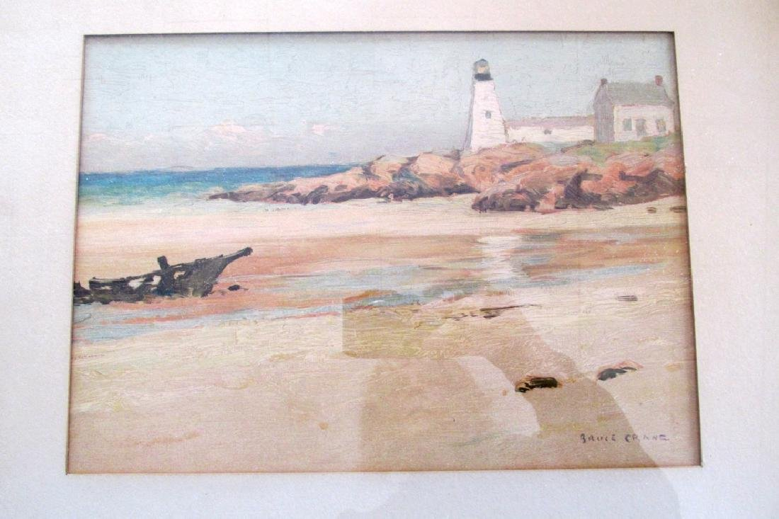 Bruce Crane - Lighthouse on the Shore