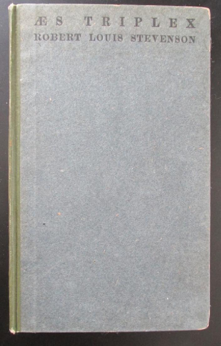 Aes Triplex - Robert Louis Stevenson