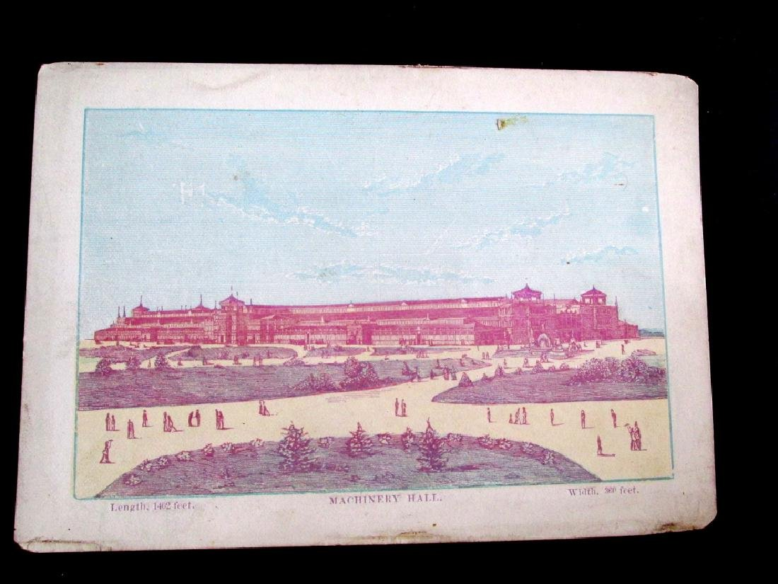 Centennial 1876 Machinery Hall Building