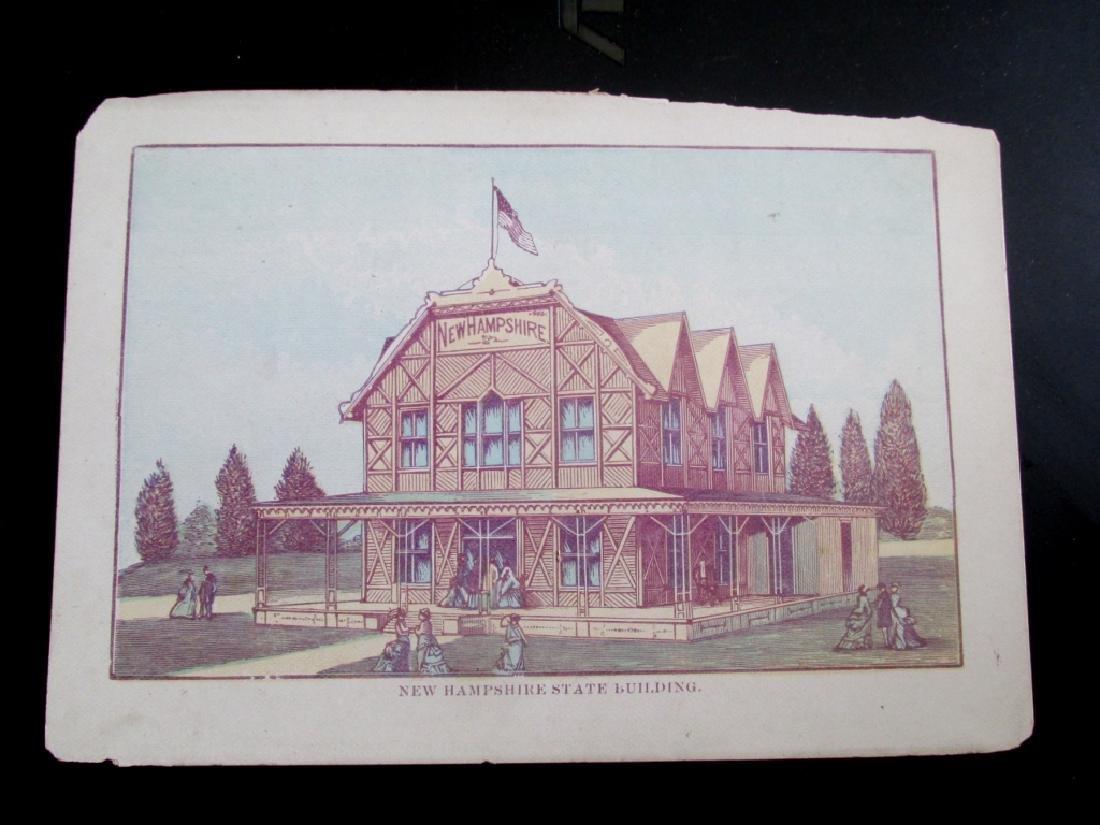 Centennial 1876 New Hampshire Building