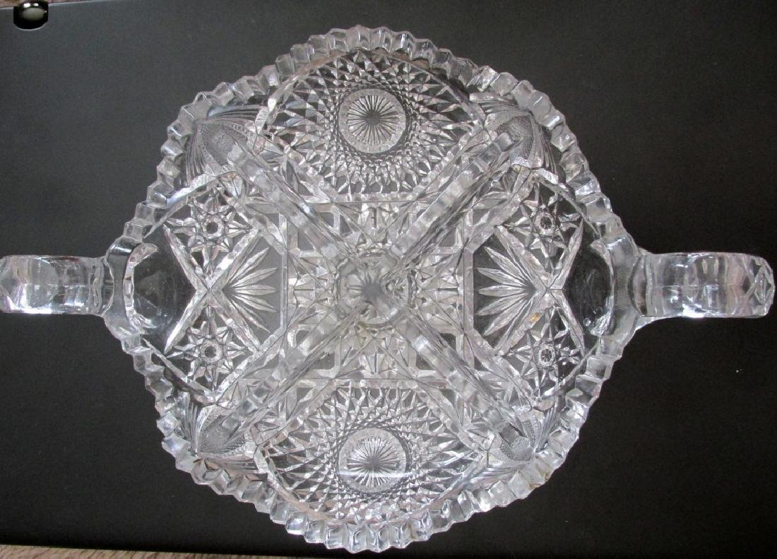 Large Glass Candy Bowl