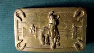 American Cowboy Belt Buckle