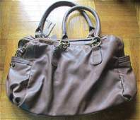 Vintage Nine West Leather Handbag