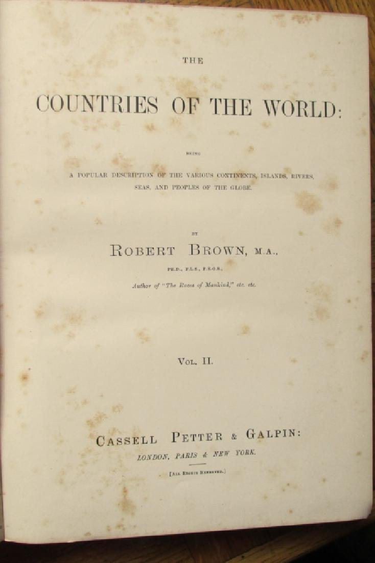 Countries of the World - Decorative Binding - 2