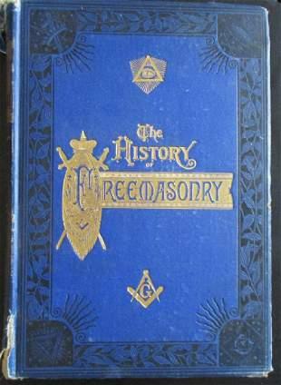 History of Freemasonry w/ Benj. Franklin Engraving