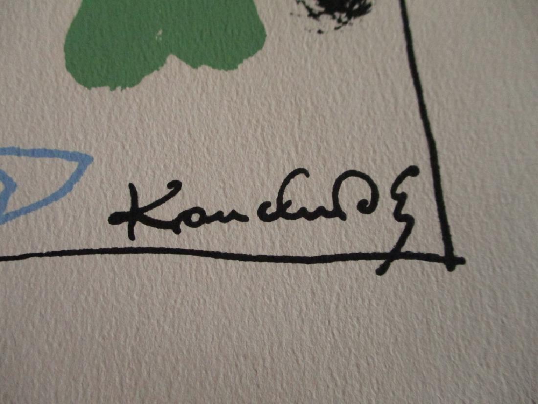 Kandinsky Silkscreen - Floating - 2