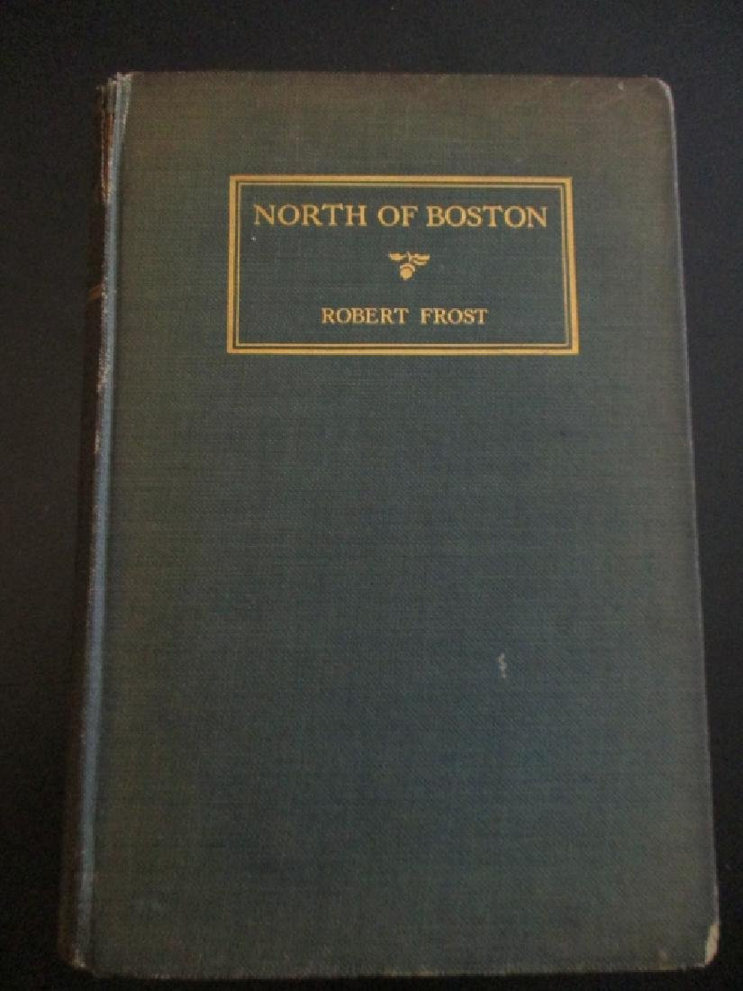 North of Boston - Robert Frost 1st American Ed