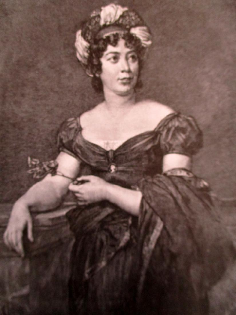 Portrait of Madame de Staël