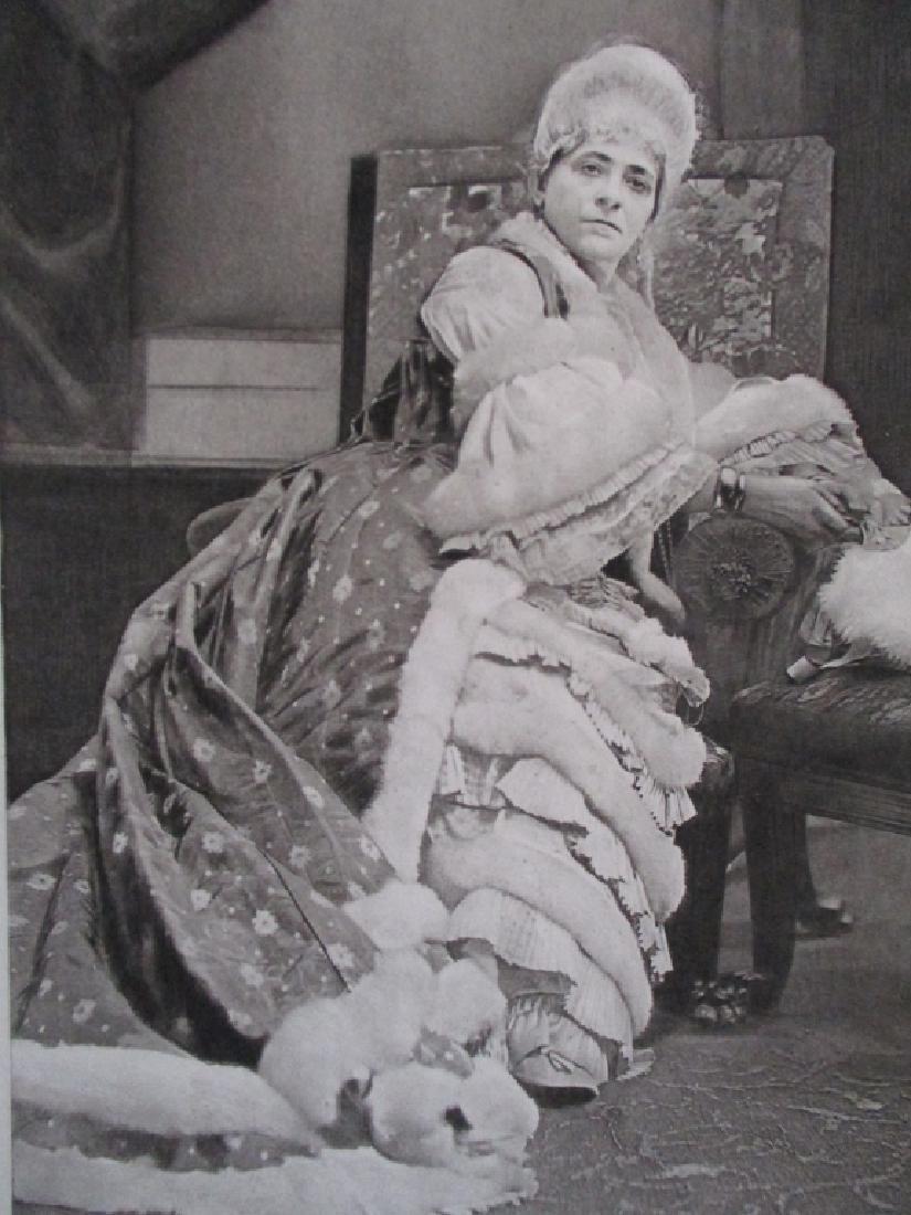 Madame Janauschek As Marie Antoinette