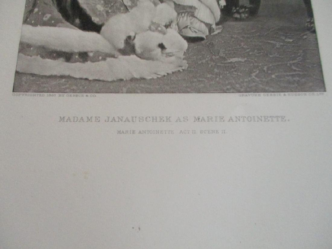 Madame Janauschek As Marie Antoinette - 2