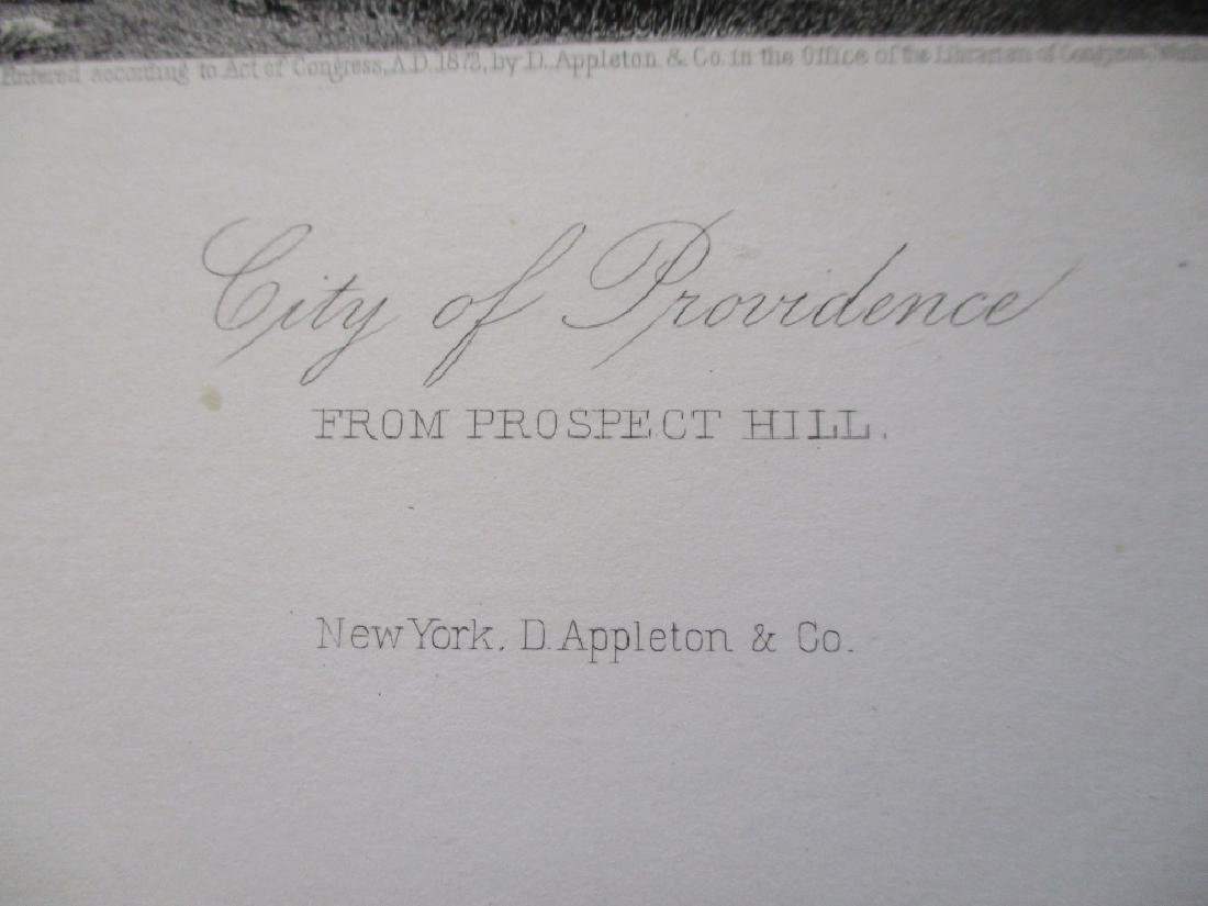 City of Providence From Prospect Hill Rhode Island - 2