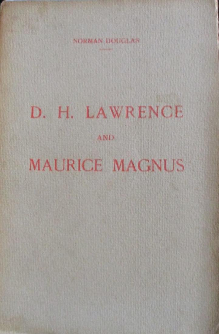 D. H. Lawrence and Maurice Magnus