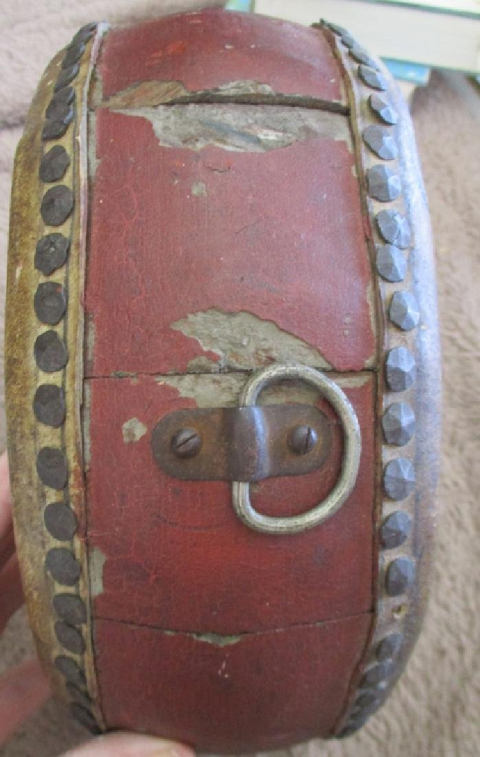 Chinese Painted Ceremonial Drum - 3