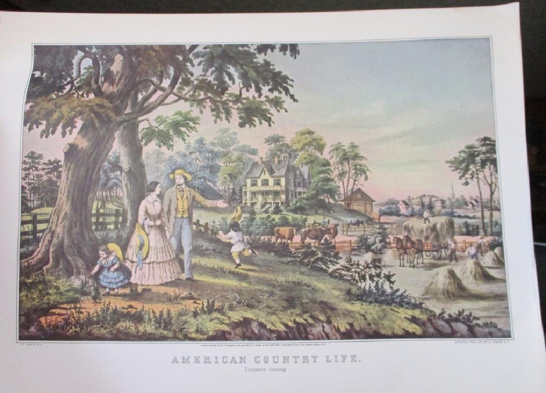 American Country Life - Currier & Ives