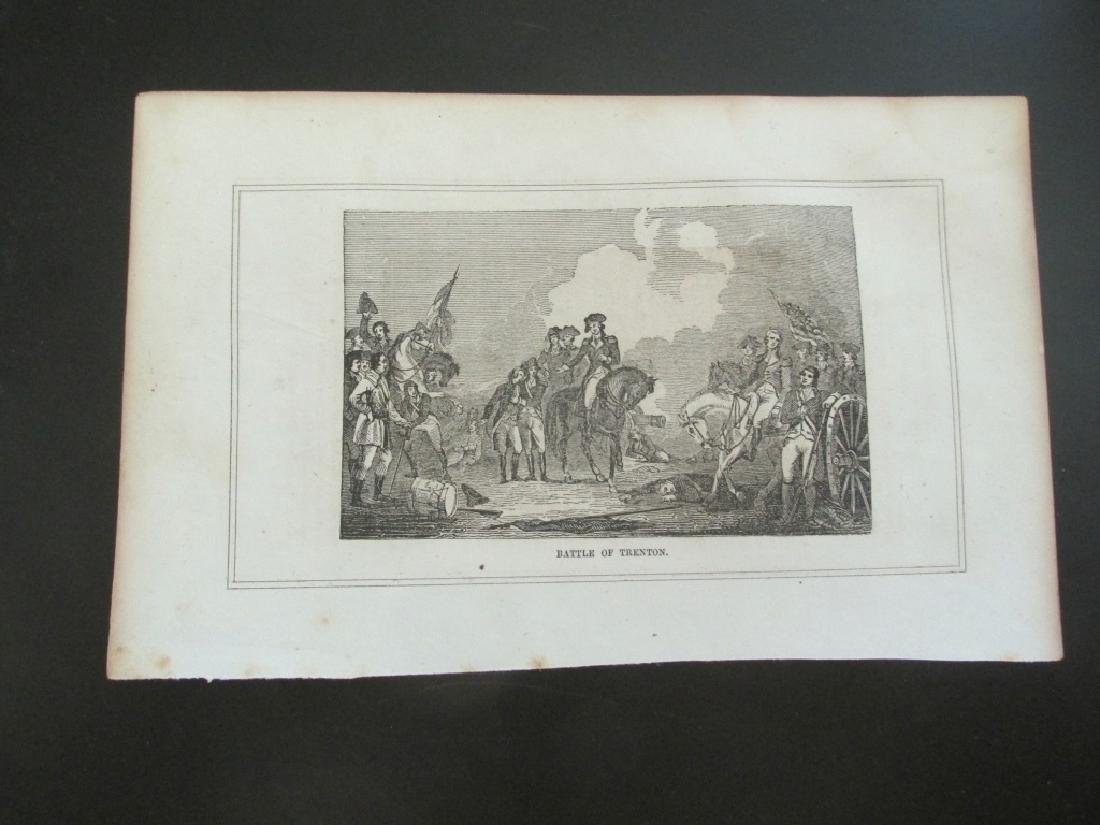 Early Engraving of Washington Crossing Delaware - 3