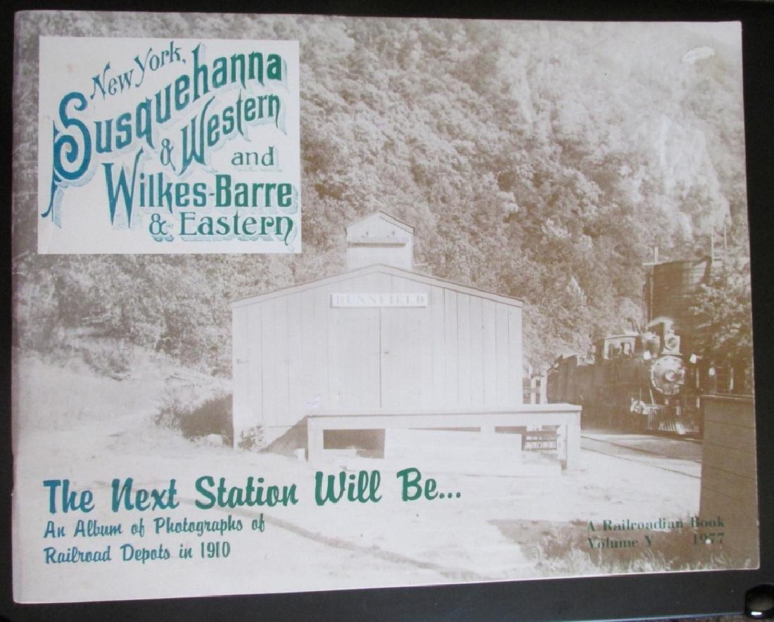 Three Books on Railroad Stations