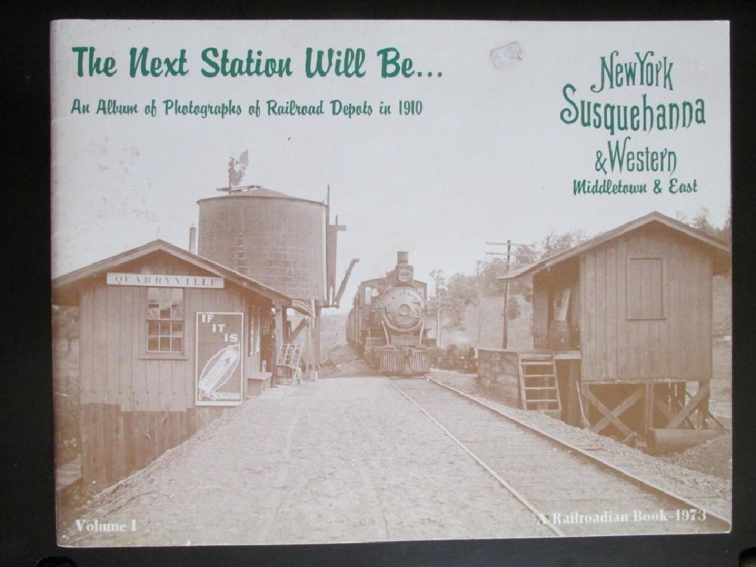 Three Books on Railroad Stations - 2