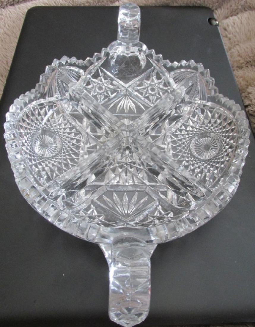 Large Glass Candy Bowl - 2