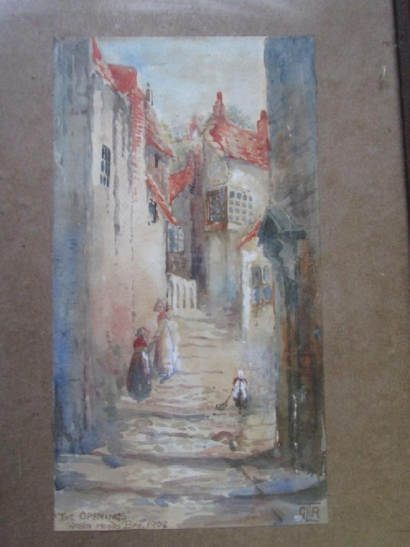 The Opening - Robin Hoods Bay 1909