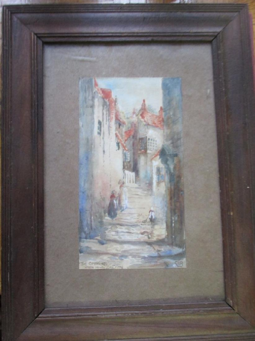 The Opening - Robin Hoods Bay 1909 - 2