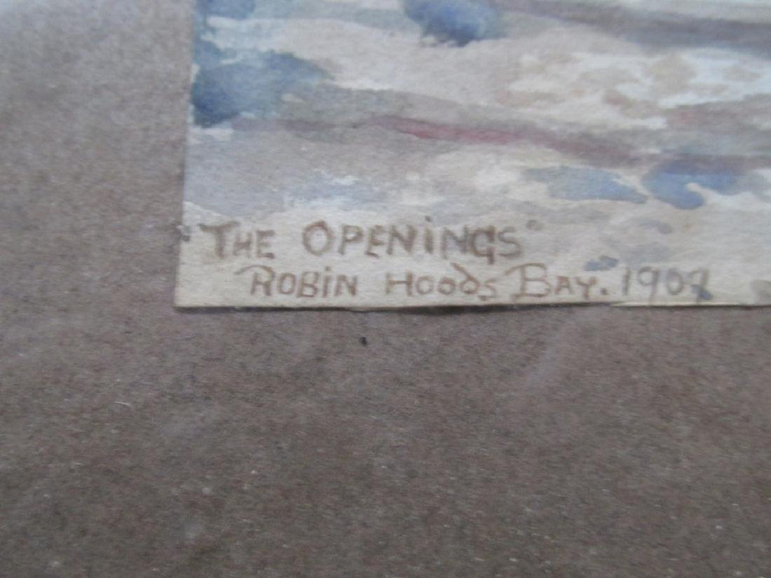 The Opening - Robin Hoods Bay 1909 - 3