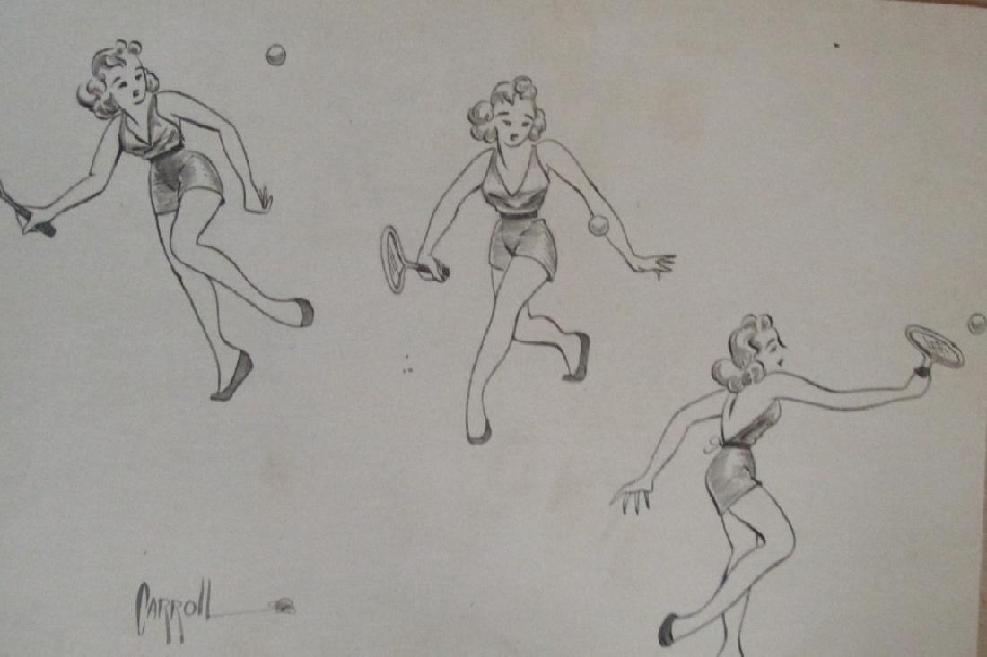 Group of 20 Original Cartoons by Nick Carroll - 3