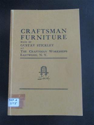 Craftsman Furniture 1909 Stickley Catalogue