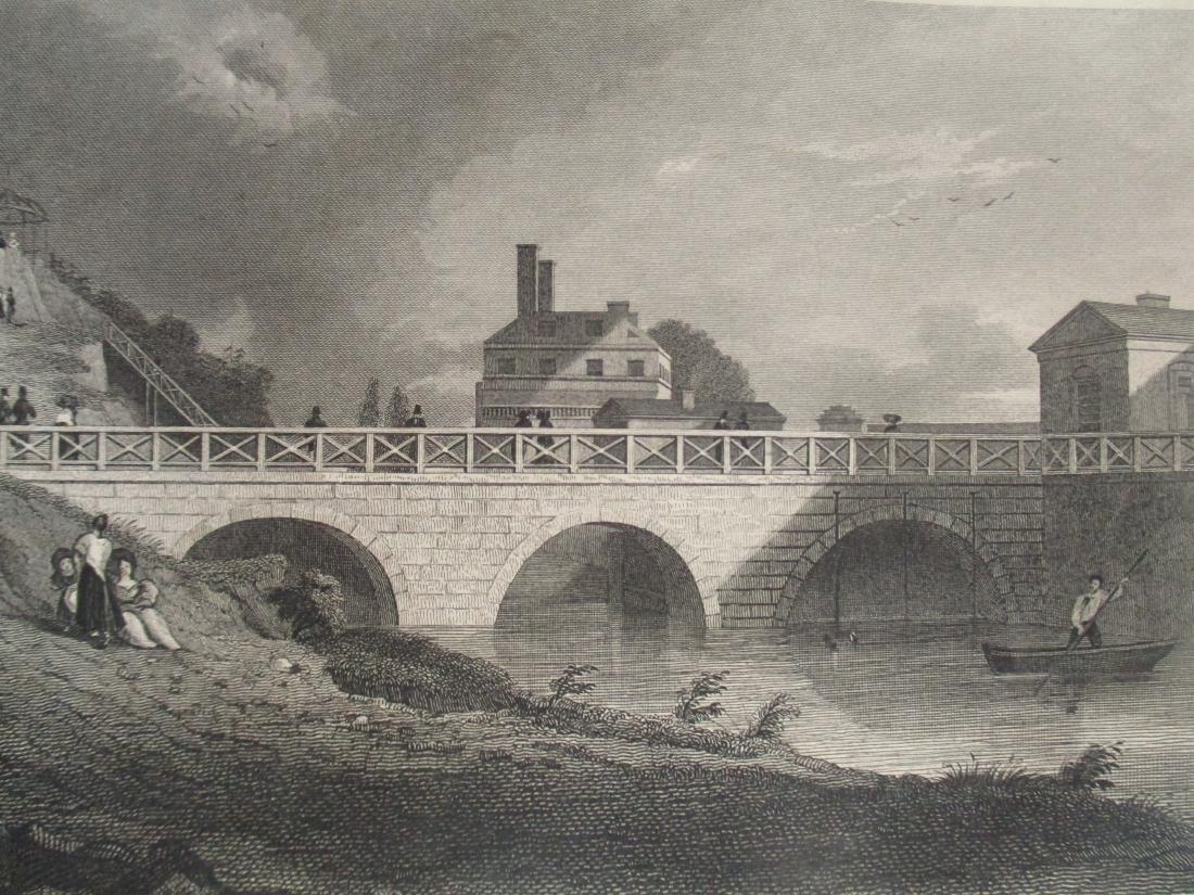 Race Bridge Fair Mount Water Works Philadelphia