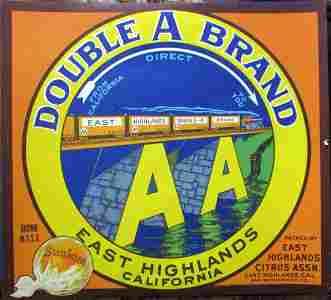 Trains - Railroads  - California Advertising