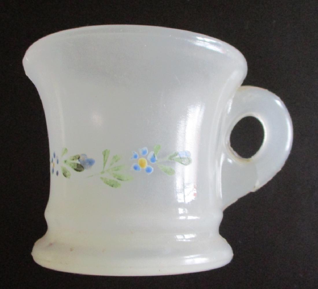Rare Clambroth Opaline Shaving Mug