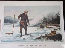 American Winter Sports  Currier Ives