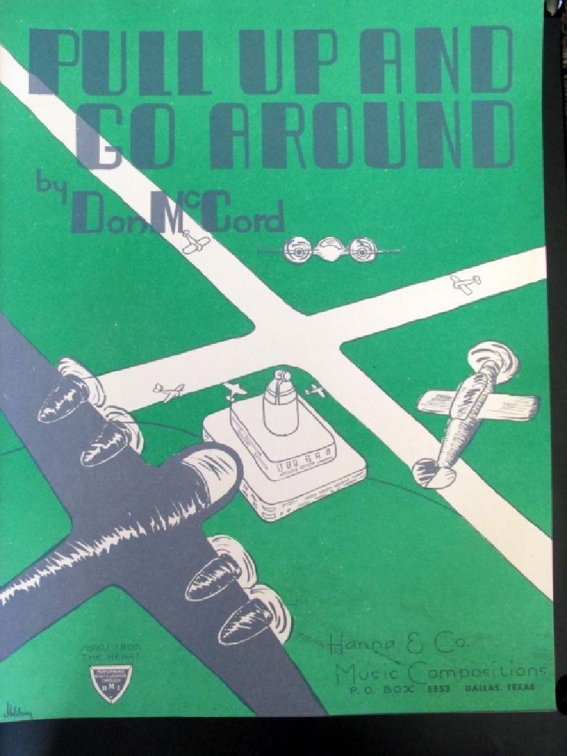 Pull Up & Go Around - Aviation Sheet Music