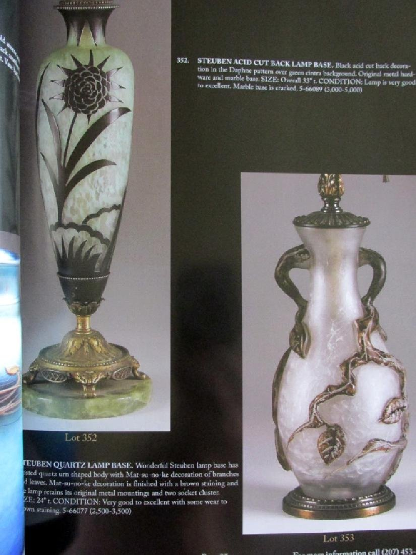 Important Lamp & Glass Catalogue 2007 - 3