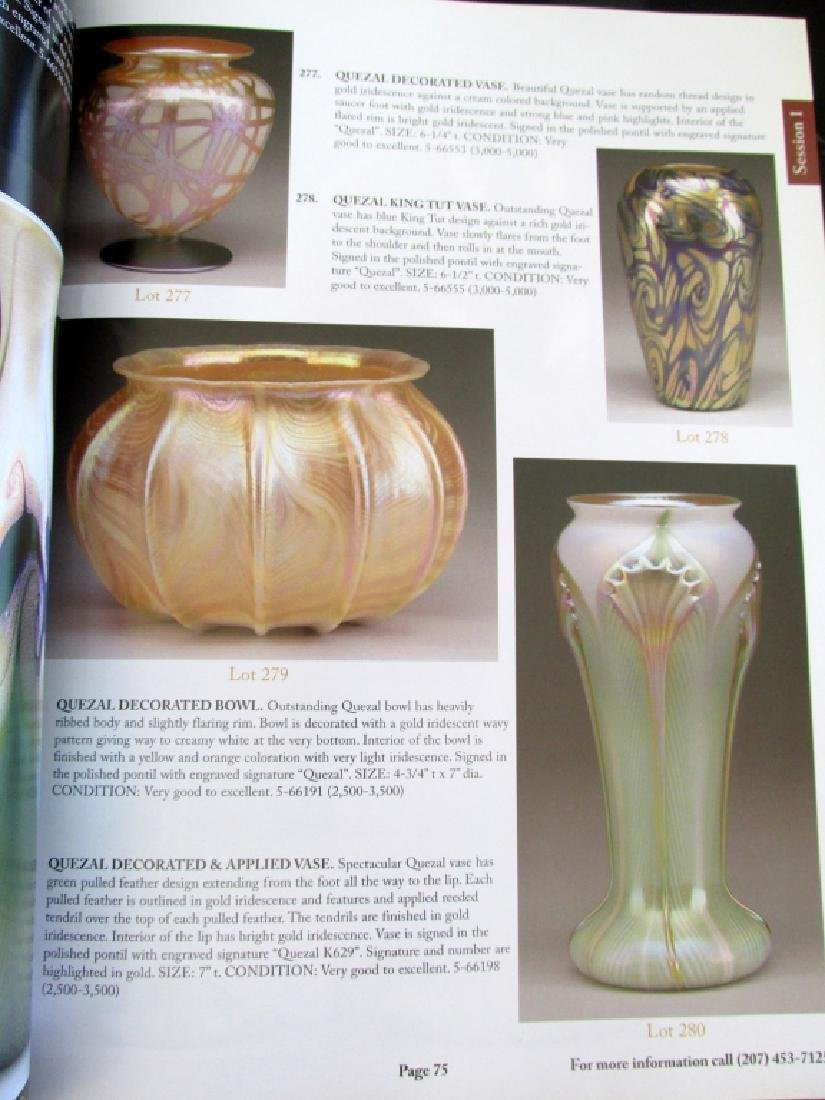 Important Lamp & Glass Catalogue 2007 - 8