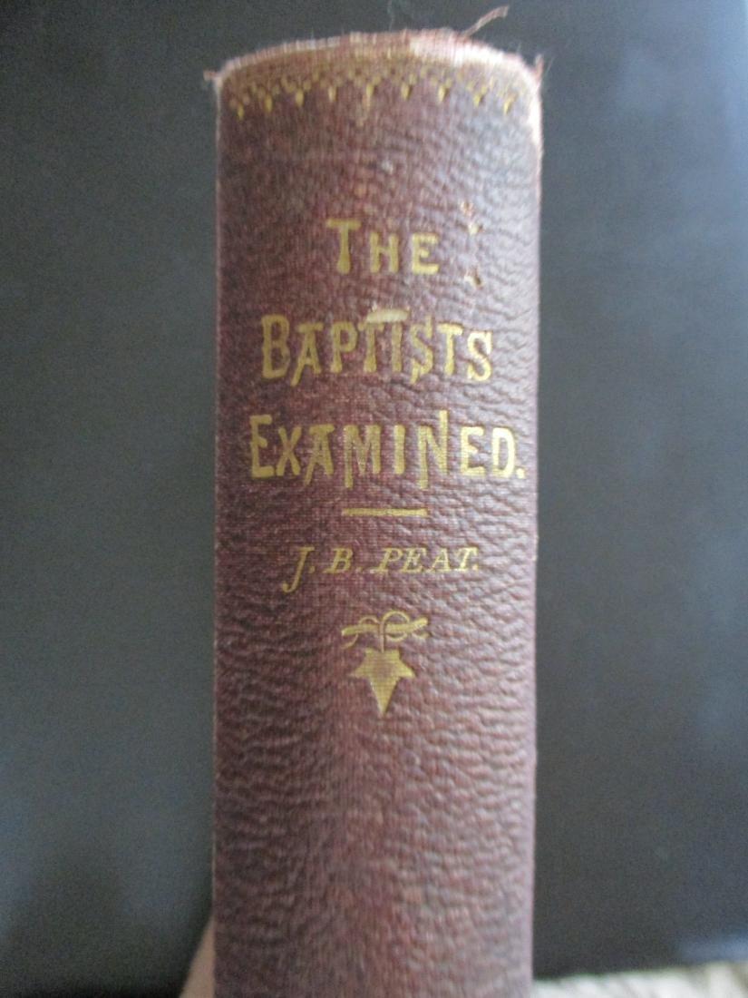 The Baptists Examined