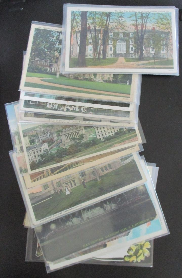 Lot Early/Vintage Postcards of Pennsylvania