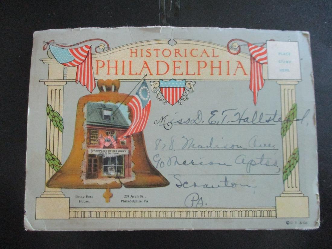 Lot of  Postcards of Philadelphia  Pennsylvania