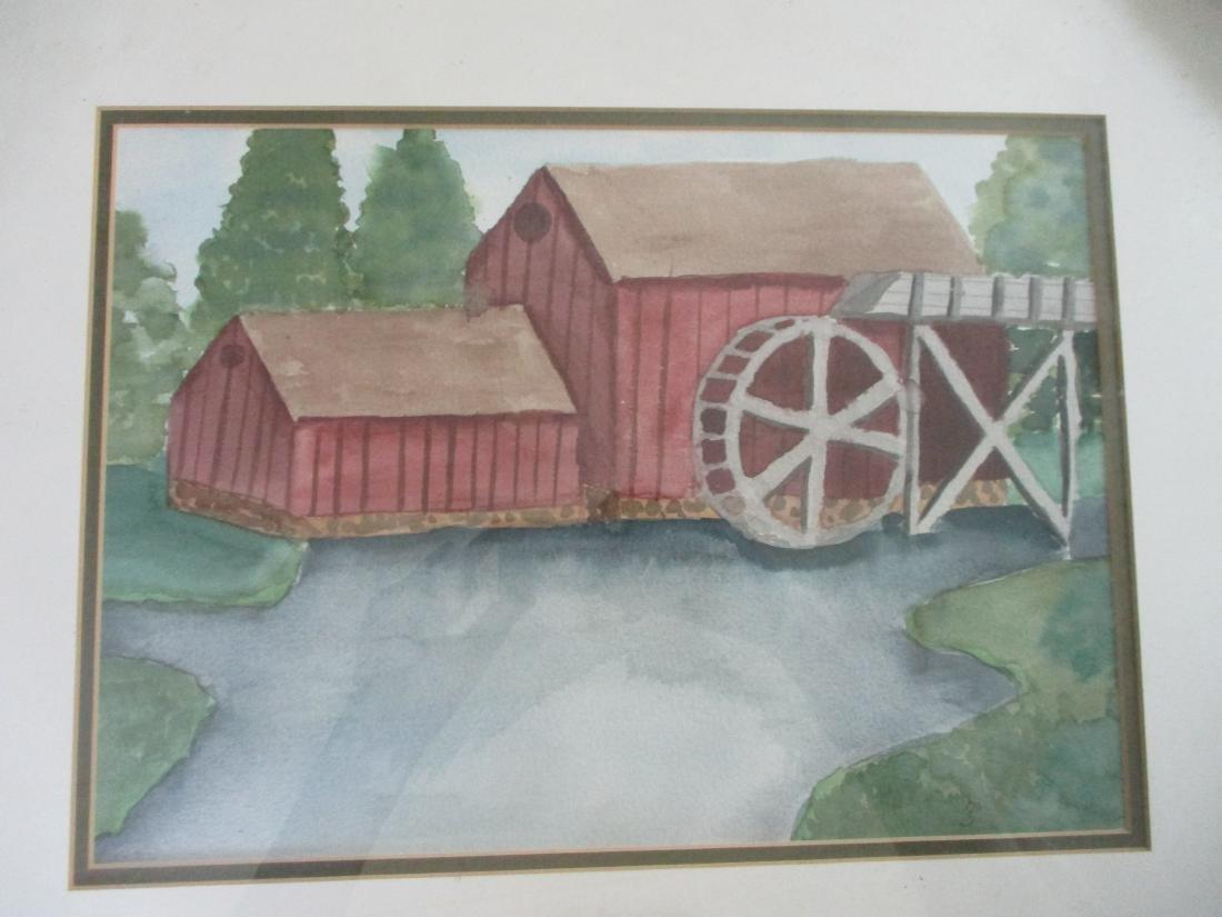 Naive Watermill - American School